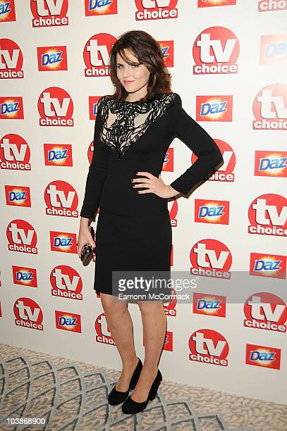 Emer Kenny arrives at the TVChoice Awards 2010 held at The Dorchester on September 6, 2010 in London, England.