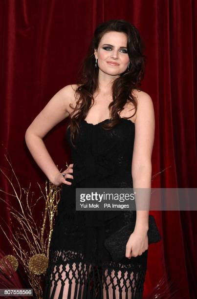 Emer Kenny arriving for the 2010 British Soap Awards at the ITV Studios, South Bank, London.