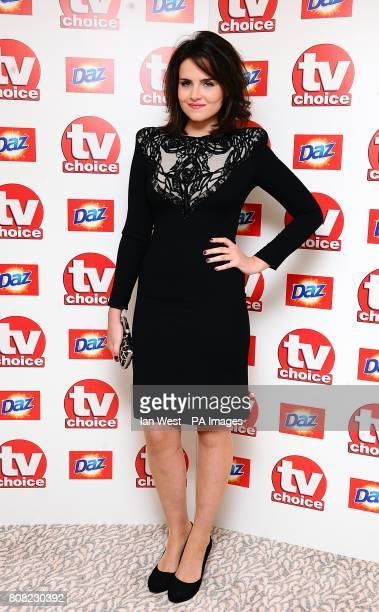 Emer Kenny arriving for the 2010 TV Choice awards at the Dorchester Hotel, London.