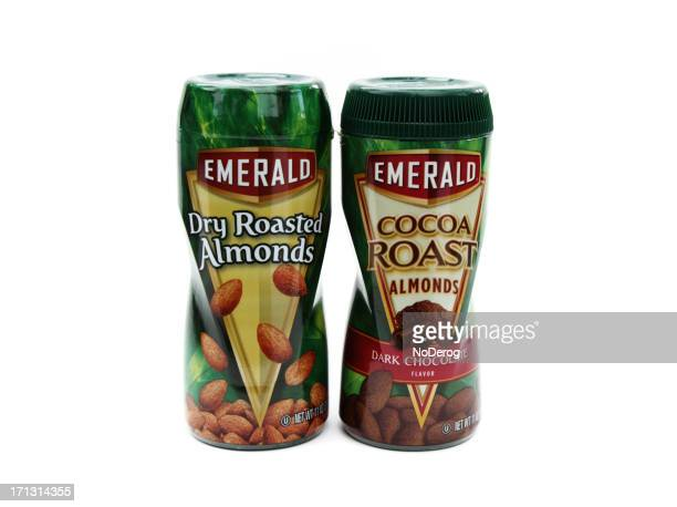 emerald almonds - theobroma stock photos and pictures