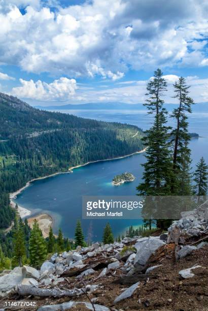 emerald bay, lake tahoe - 1 - emerald bay lake tahoe stock pictures, royalty-free photos & images
