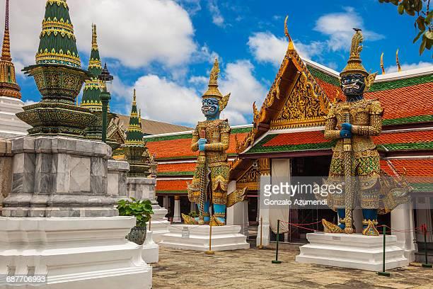 Emerald Buddha Temple in Bangkok