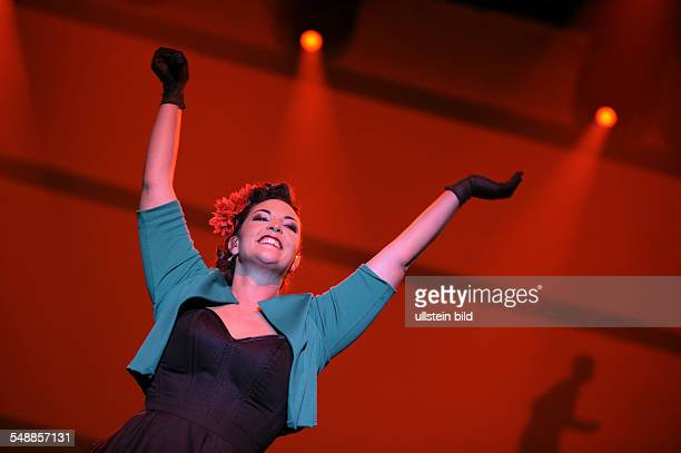 Emerald Caro Musician Singer Jazz music Netherland performing in Duesseldorf Germany MitsubishiElectricHall