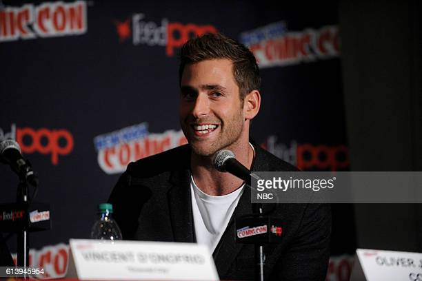 CON 2016 'Emerald City' Panel Pictured Oliver JacksonCohen on Saturday October 8 2016 from the Javits Center in New York NY