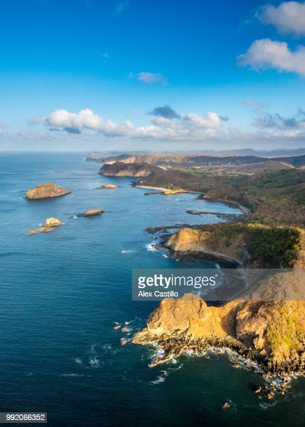 emerald coast, nicaragua - nicaragua stock pictures, royalty-free photos & images
