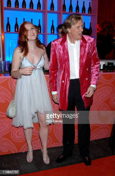 Emerald Fennell and Theo Fennell during Remy Martin / Theo Fennell Hot Ice Party Inside at 25 Belgrave Square in London Great Britain