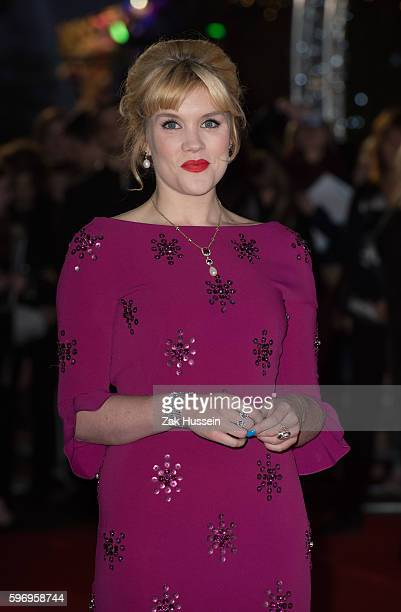 Emerald Fennell arriving at the premiere of Danish Girl at the Odeon Leicester Square in London