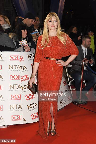 Emerald Fennell attends the National Television Awards at Cineworld 02 Arena on January 25 2017 in London England