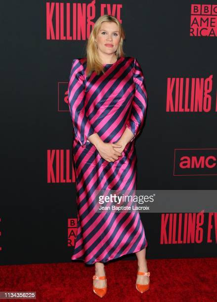 Emerald Fennell attends the Premiere of BBC America and AMC's Killing Eve Season 2 on April 01 2019 in Los Angeles California