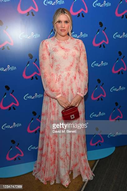 """Emerald Fennell attends the press night performance of """"Cinderella"""" at the Gillian Lynne Theatre on August 18, 2021 in London, England."""