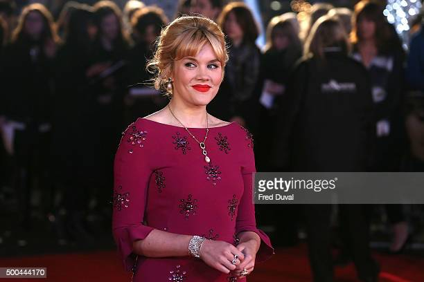 Emerald Fennell attends the UK Premiere of The Danish Girl at Odeon Leicester Square on December 8 2015 in London England
