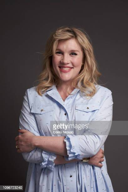 Emerald Fennell of AMC's Killing Eve poses for a portrait during the 2019 Winter TCA at The Langham Huntington Pasadena on February 9 2019 in...