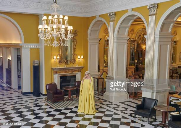 Emerald Fennell prepares for the 78th Golden Globe Awards at Claridge's Hotel on February 28, 2021 in London, England. Emerald Fennell was nominated...