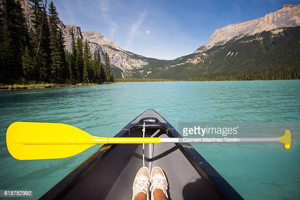emerald lake canada. - north stock pictures, royalty-free photos & images