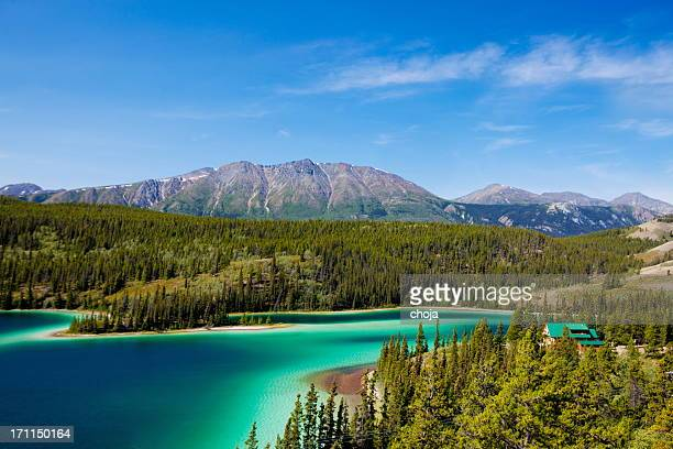 Lago esmeralda, Yukon Canadá