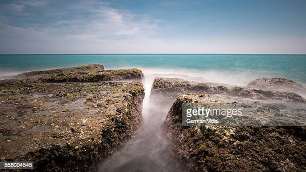 emerald sea - castellon province stock pictures, royalty-free photos & images
