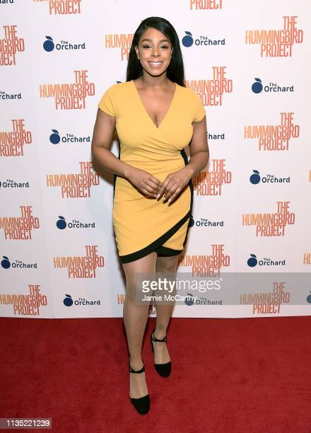 """Emerald Vickers attends """"The Hummingbird Project"""" New York Screening at Metrograph on March 11, 2019 in New York City."""