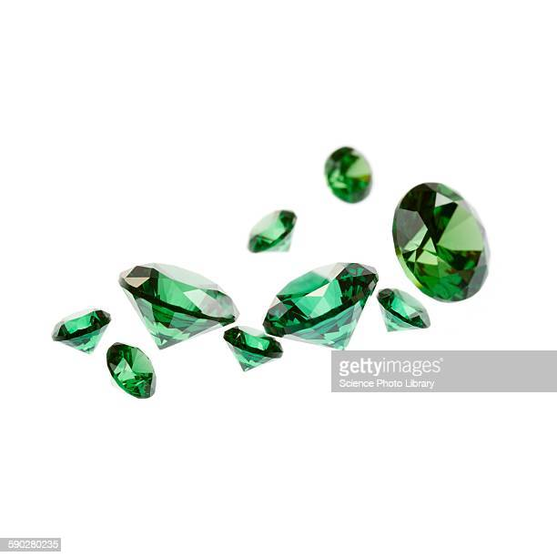 emeralds - emerald gemstone stock pictures, royalty-free photos & images