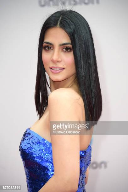 Emeraude Toubia attends the 18th Annual Latin Grammy Awards at MGM Grand Garden Arena on November 16 2017 in Las Vegas Nevada