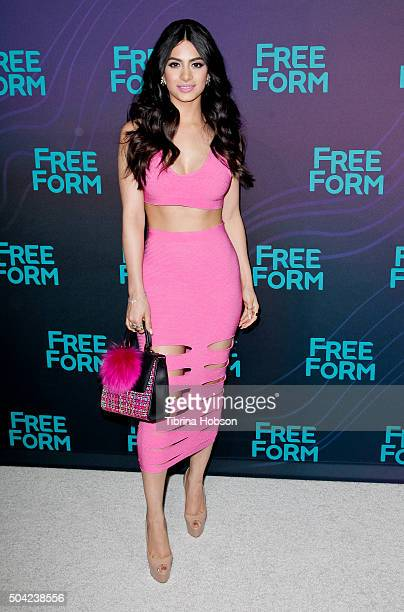 Emeraude Toubia attends the Disney/ABC 2016 Winter TCA Tour at Langham Hotel on January 9 2016 in Pasadena California