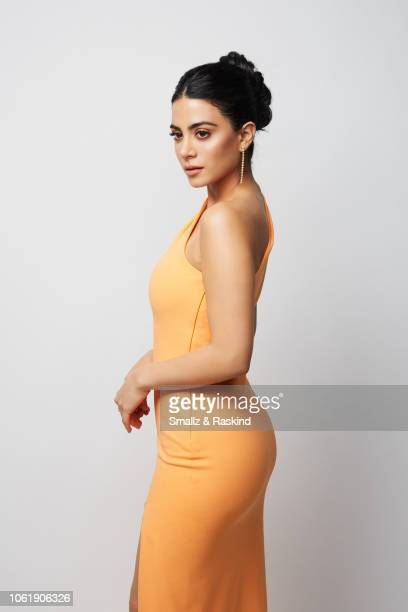 Emeraude Toubia poses for a portrait during the 2018 People's Choice Awards at The Barker Hanger on November 11 2018 in Santa Monica California
