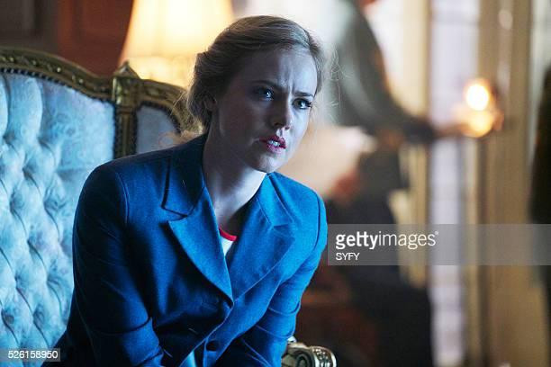 12 MONKEYS Emergence Episode 204 Pictured Amanda Schull as Cassandra Railly