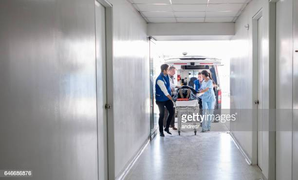 emergency at the hospital - beat the clock stock photos and pictures