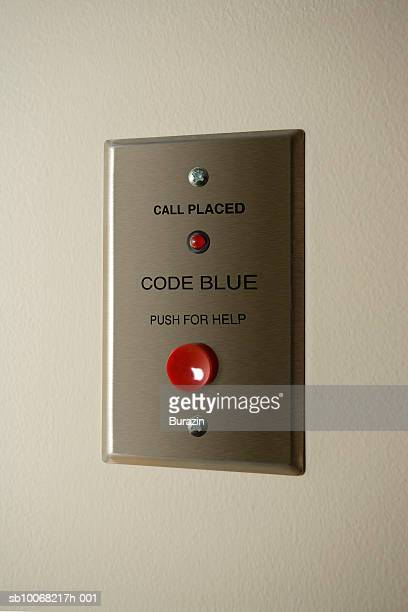 Emergency button on wall