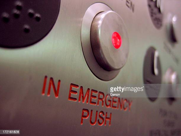 emergency button - ongelukken en rampen stockfoto's en -beelden