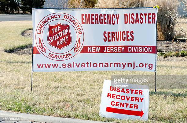 Emergency Disaster Services Center Signs