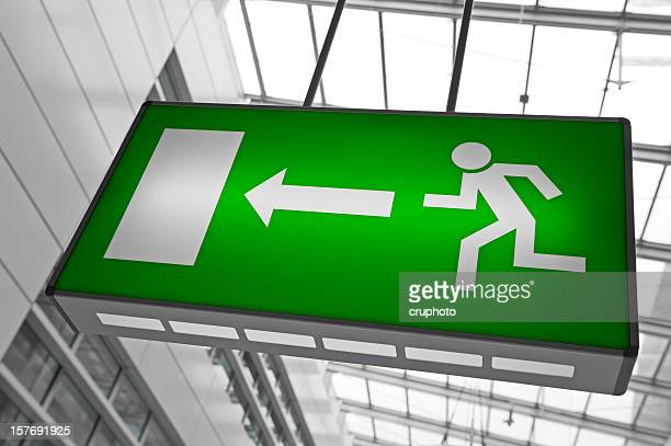 Emergency exit light sign