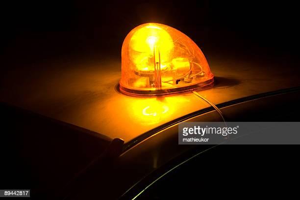 Piscando luzes de emergência