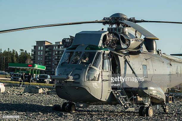 emergency landing - helicopter rotors stock photos and pictures
