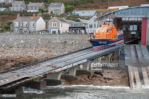 Emergency Life Boat Launch