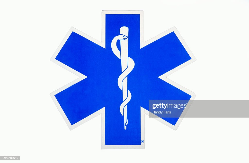 Emergency Medical Care Symbol Stock Photo Getty Images