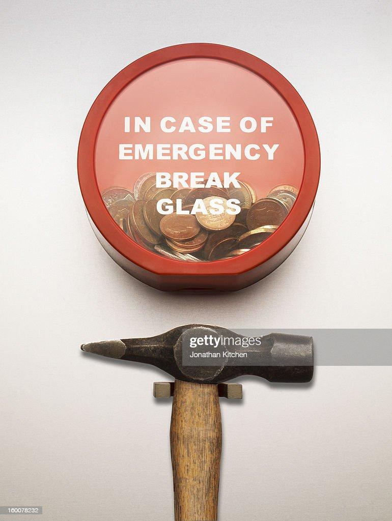 Emergency Money : Stock Photo