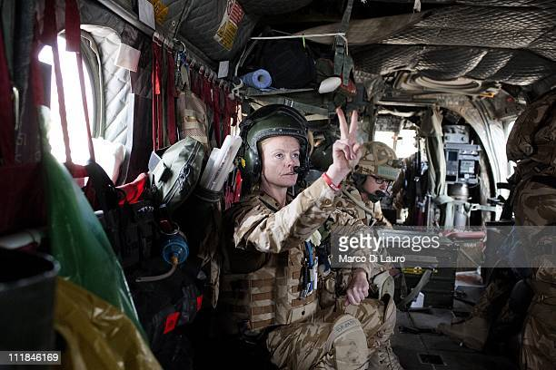 Emergency Nurse Commanding Officer of the MERT FLT LT Fiona McGlynn 37yearsold from the Selly Oak Hospital in Birmingham notifies the other members...