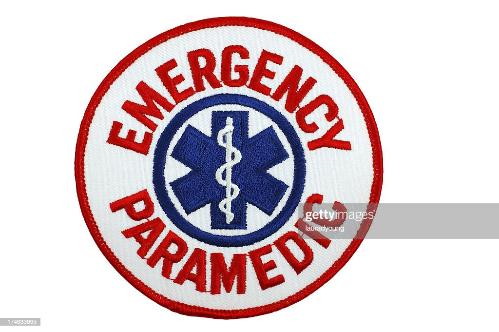 Emergency Paramedic Patch : Stock Photo