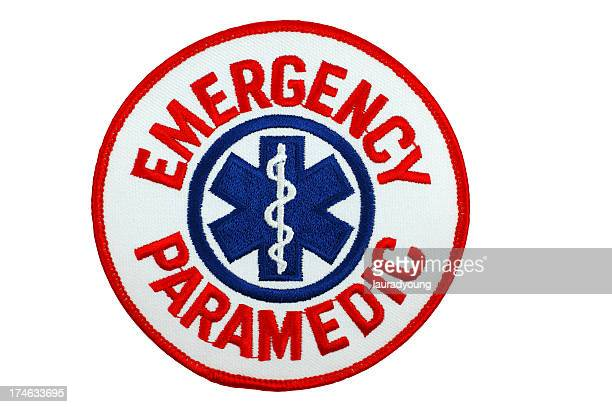 emergency paramedic patch - embroidery stock pictures, royalty-free photos & images