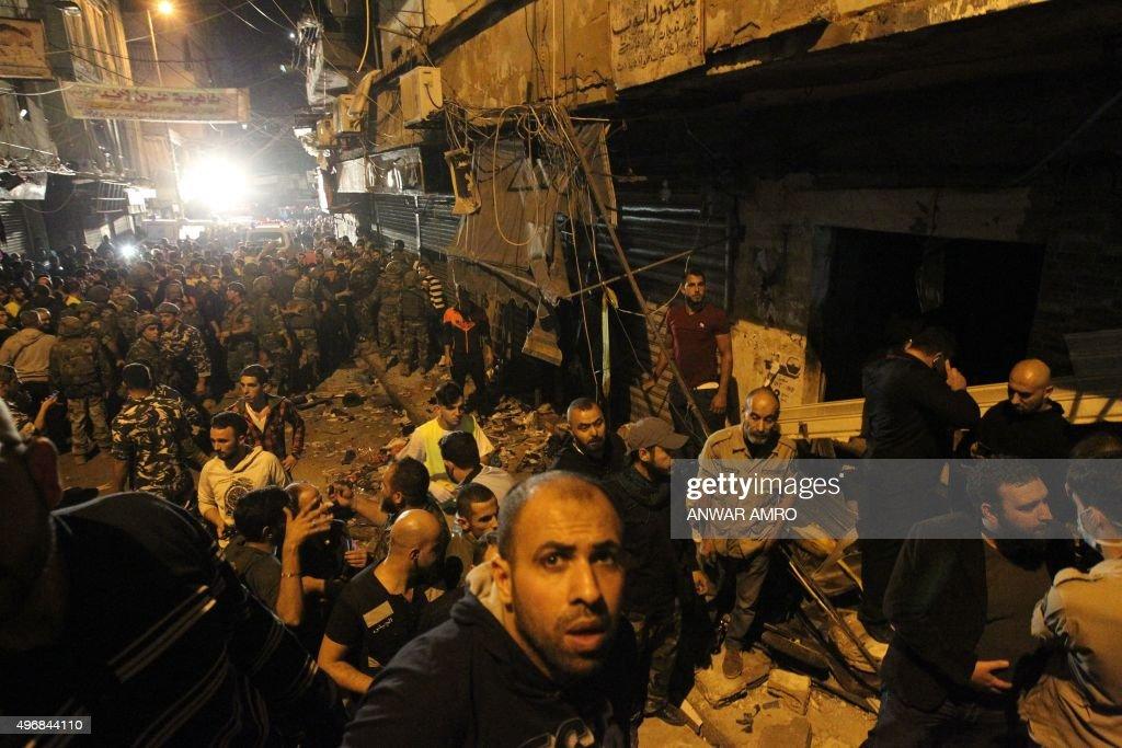LEBANON-UNREST-BLAST : News Photo