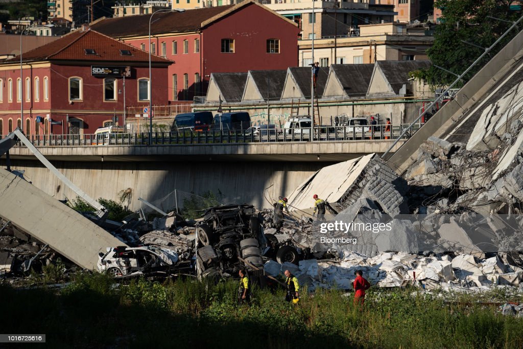 Italy Highway Bridge Collapse
