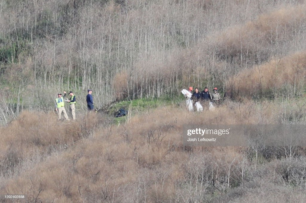 Kobe Bryant Killed In Helicopter Crash In Calabasas Hills : News Photo