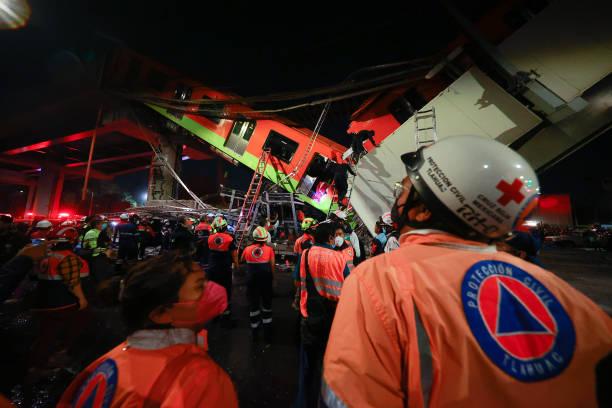 MEX: Metro Bridge Collapses in Mexico City