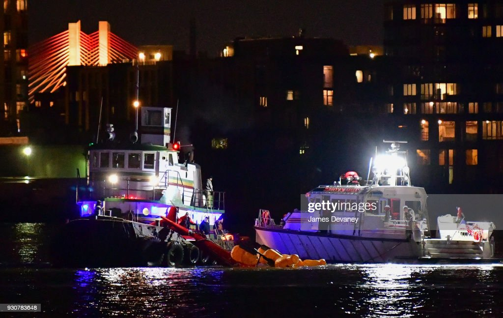 Five Dead After Helicopter Crashes into East River
