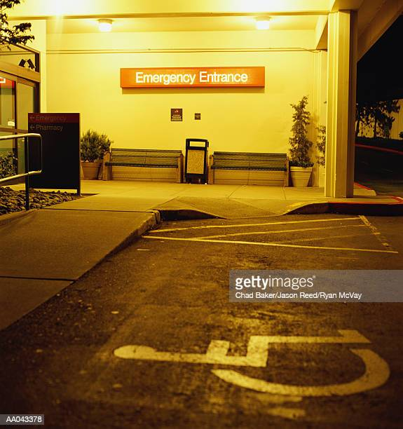 emergency room entrance - entrance sign stock photos and pictures