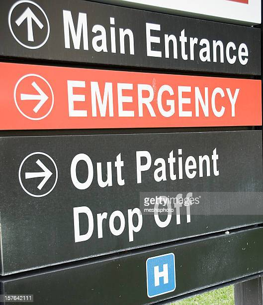 Emergency Room Sign This Way