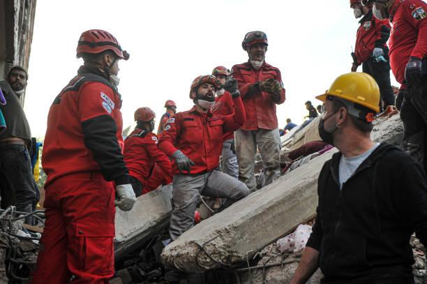 TUR: 6.6 Magnitude Earthquake Strikes Off Coast Of Turkey's Izmir Province