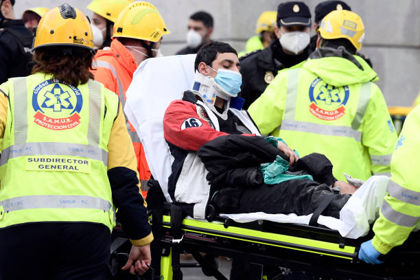 ESP: At Least Two Dead After Explosion Damages A Building In The Centre Of Madrid