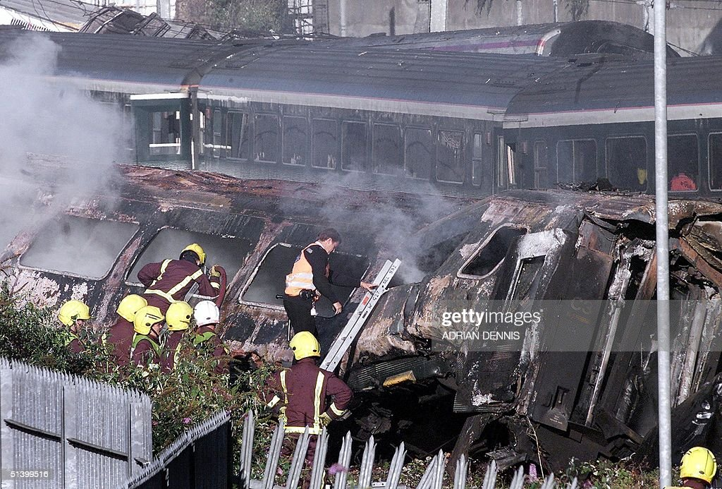 On 5th October 1999, the Ladbroke Grove rail crash in west London left 31 people dead and over 400 injured