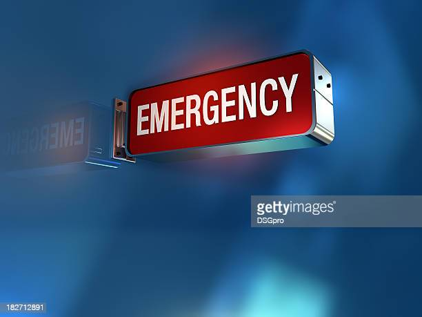 emergency sign - emergencies and disasters stock pictures, royalty-free photos & images